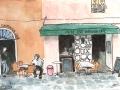 France - In de Zeze Cafe in Ajaccio, Corsica 2008