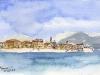 France - View of Ajaccio, Corsica