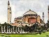 Istanbul - Hagia Sophia exterior, 2010