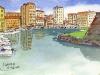 Livorno canals, Italy, 2008