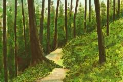 Ridge Trail in April 1 72