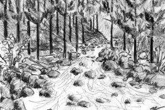 Keeps Mill-White River drawing 100