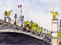 Pont Alexandre III (detail), Paris, 2012 - Sold