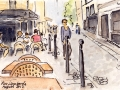 Rue Lombarde, Marais, Paris - Sold