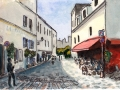 Rue Poulbot, Montmartre, Paris, 2013 - Sold