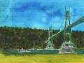 St Johns Bridge, Portland, OR 3
