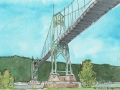 St Johns Bridge, Portland, OR 1